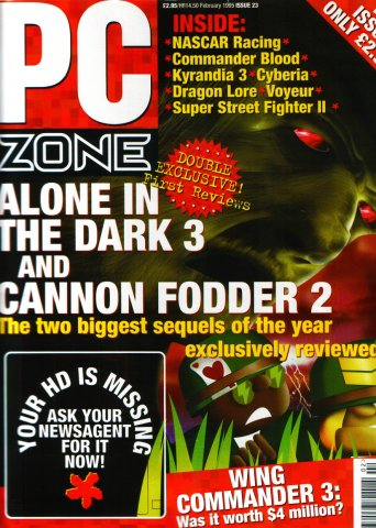 PC Zone Issue 023 (February 1995)
