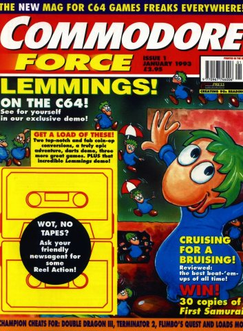 Commodore Force 01 (January 1993)