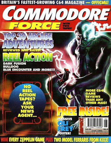 Commodore Force 06 (June 1993)