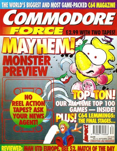 Commodore Force 11 (Autumn 1993)