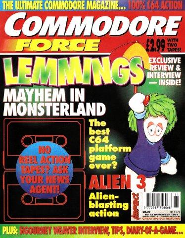 Commodore Force 12 (November 1993)