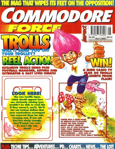 Commodore Force 05 (May 1993)