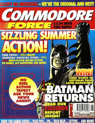 Commodore Force 08 (August 1993)