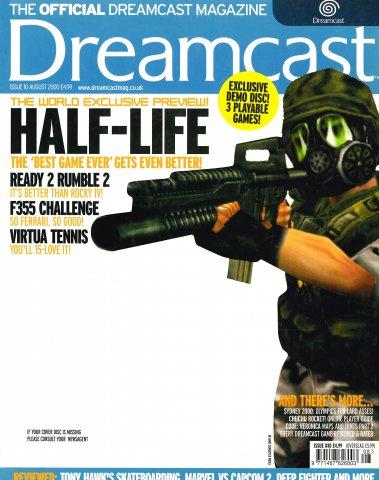 Official Dreamcast Magazine 10 (August 2000)