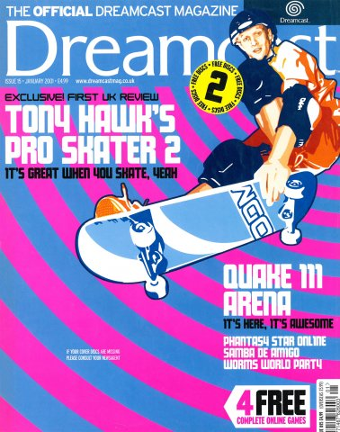 Official Dreamcast Magazine 15 (January 2001)
