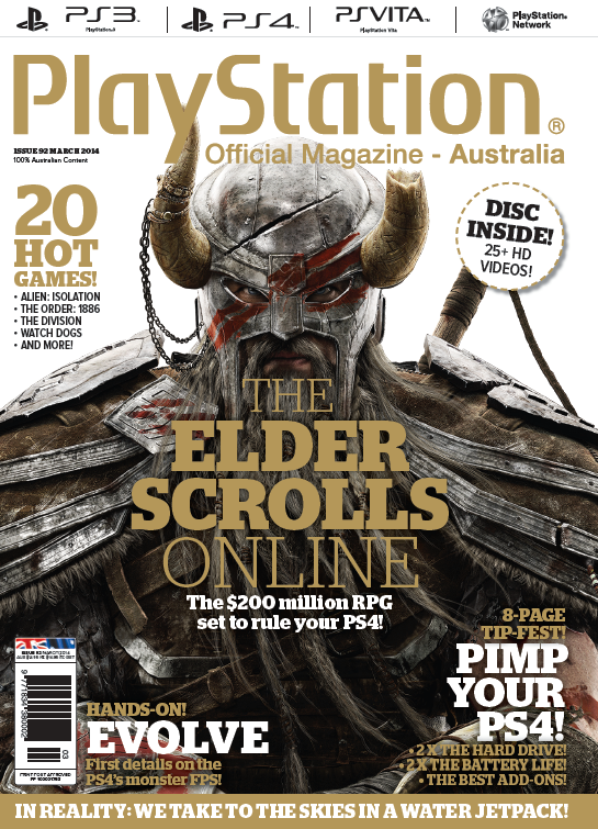 PlayStation Official Magazine Issue 092 (March 2014)