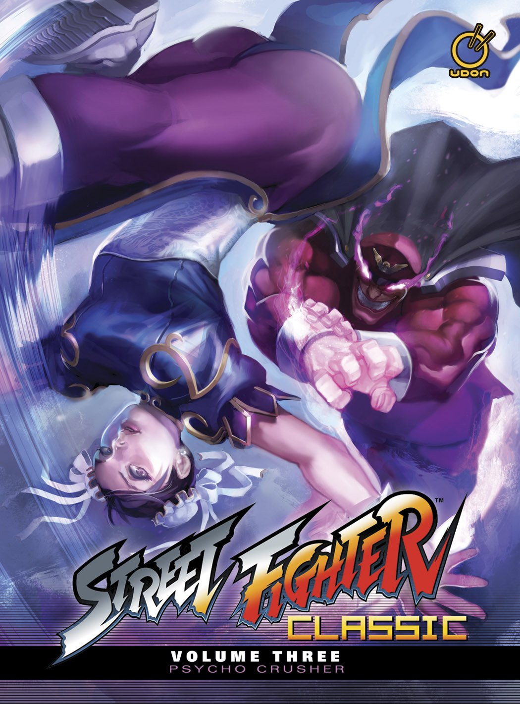 Street Fighter Classic Vol.3 Psycho Crusher