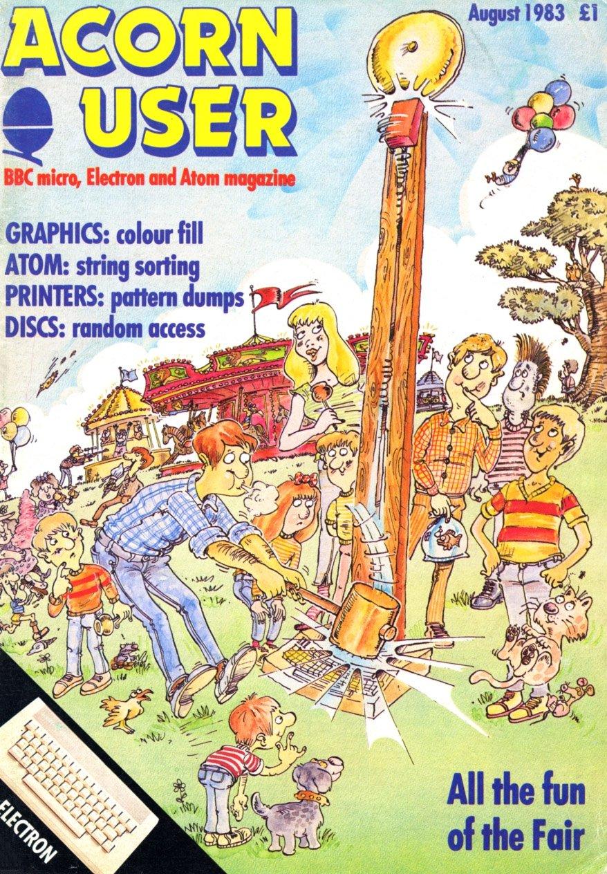 Acorn User 013 (August 1983)