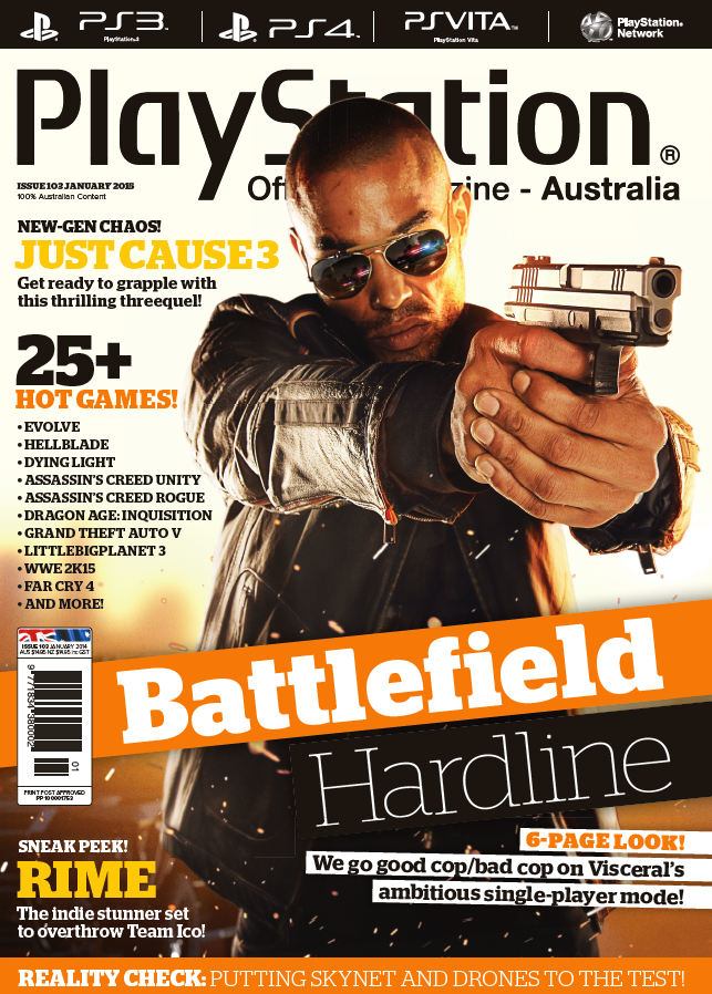 PlayStation Official Magazine Issue 103 (January 2015)