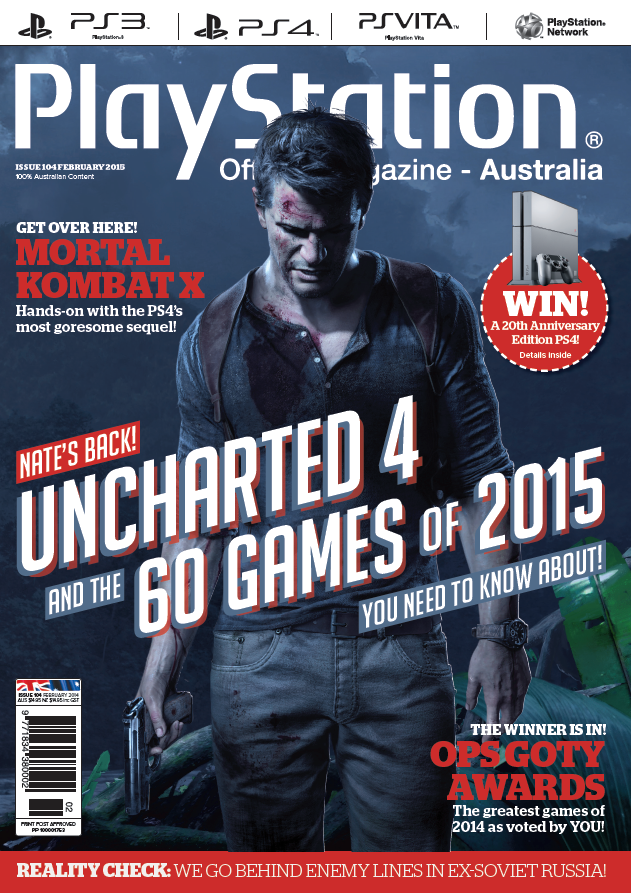 PlayStation Official Magazine Issue 104 (February 2015)