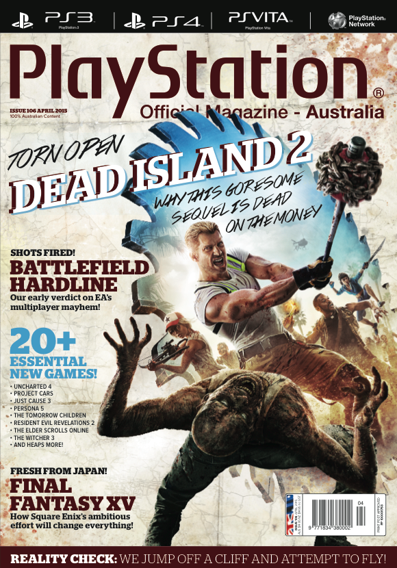 PlayStation Official Magazine Issue 106 (April 2015)