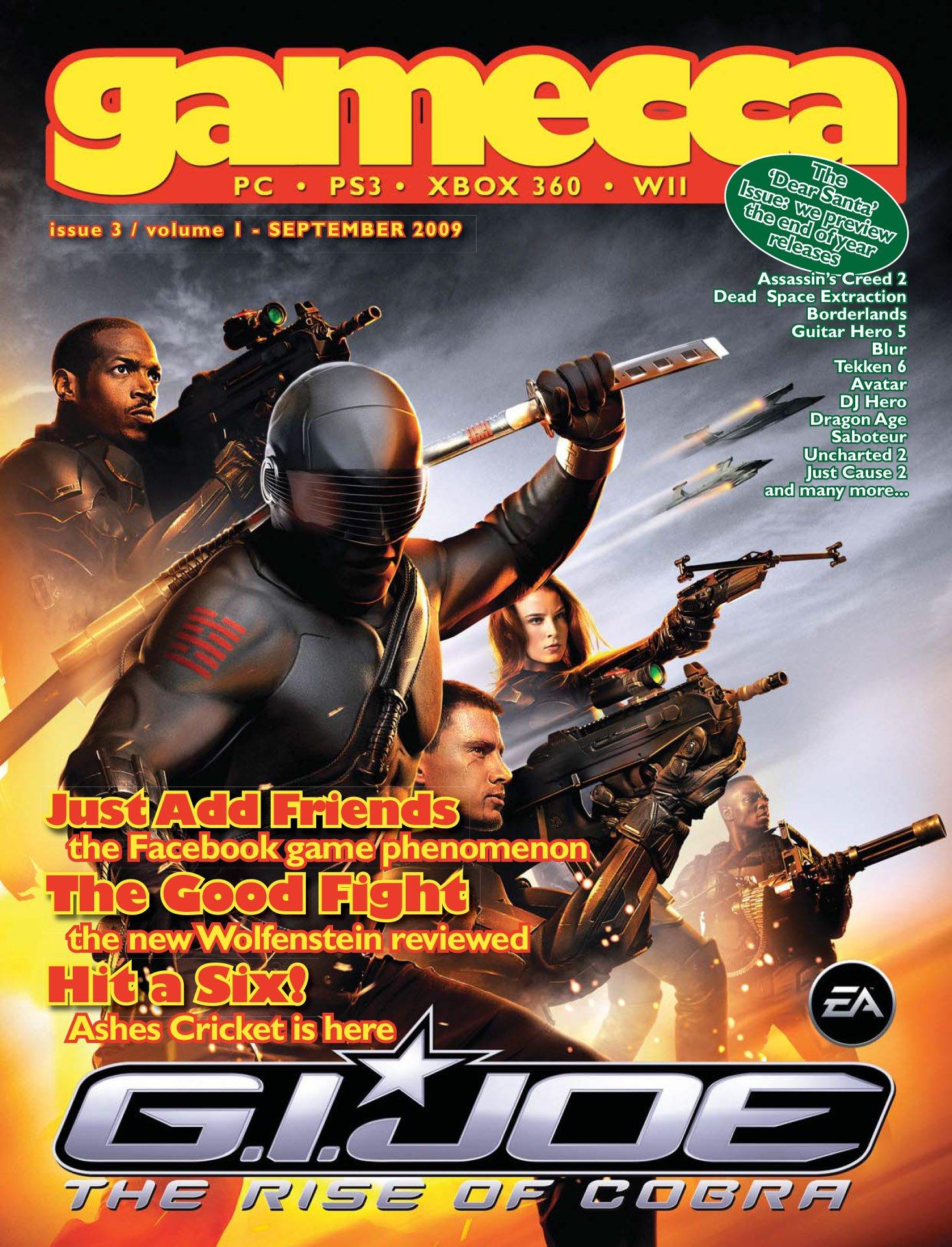 Gamecca 003 (September 2009)