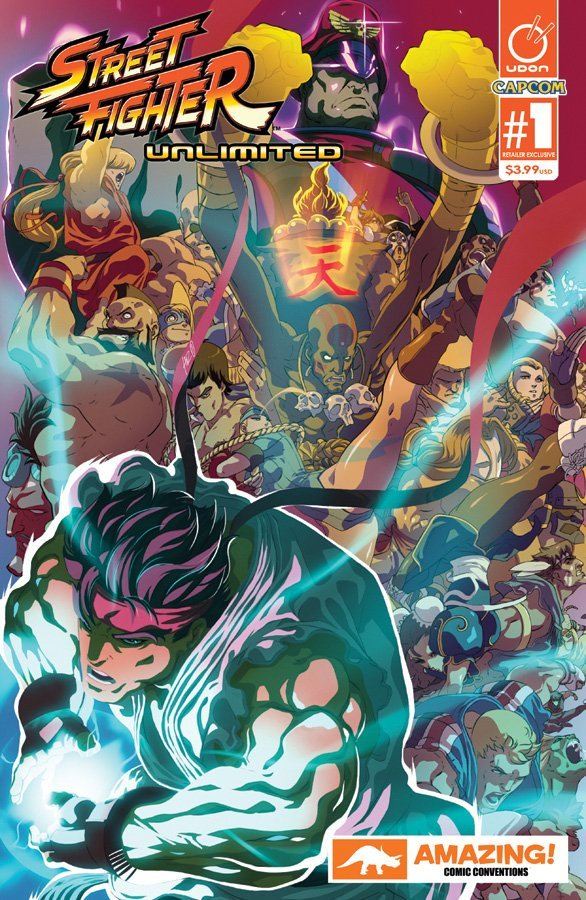 Street Fighter Unlimited 001 (December 2015) (Amazing Comic Conventions variant)