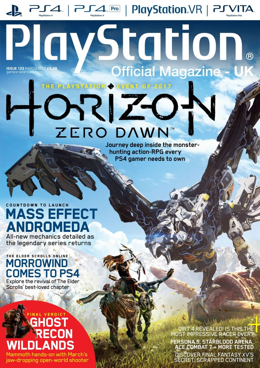 Playstation Official Magazine UK 133 (March 2017)