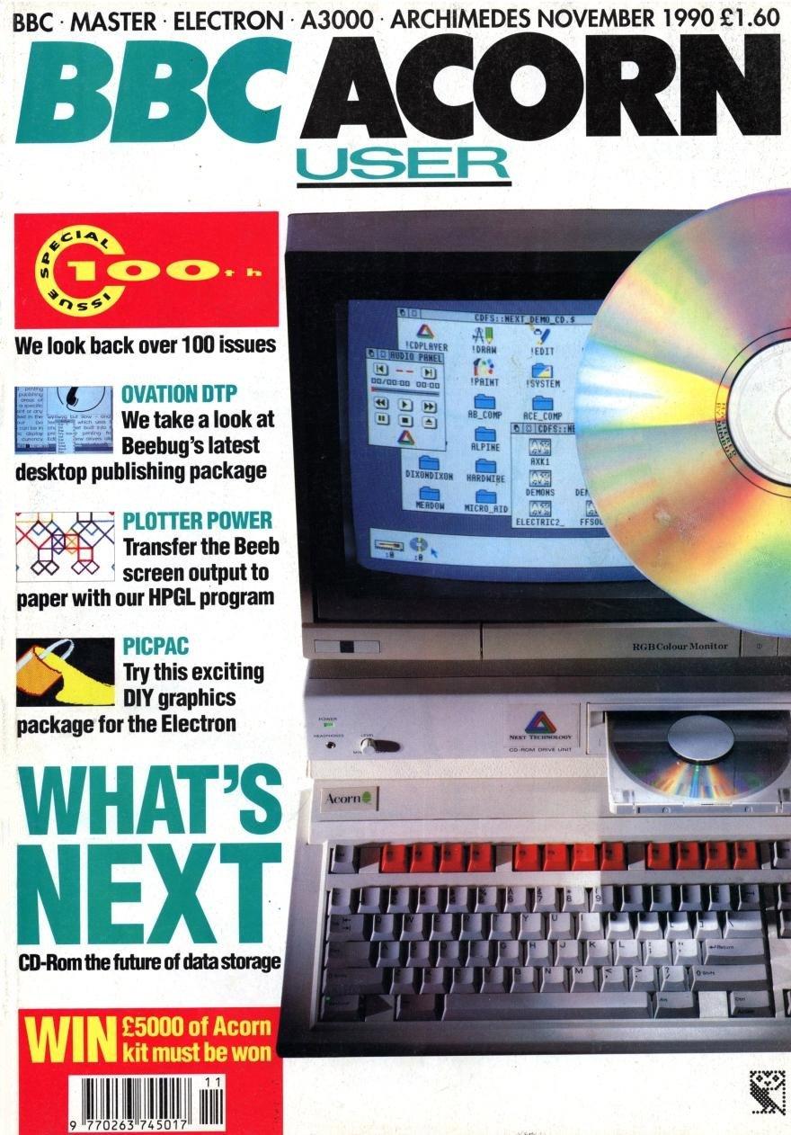 Acorn User 100 (November 1990)