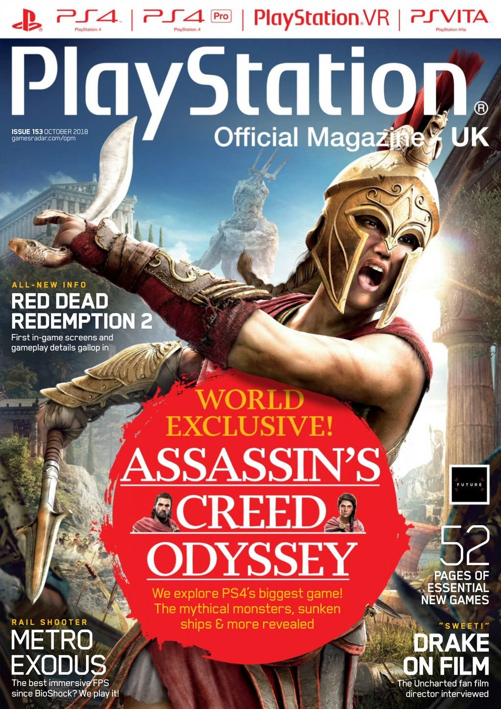 Playstation Official Magazine UK 153 (October 2018)