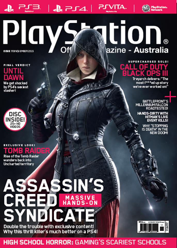 PlayStation Official Magazine Issue 113 (November 2015)