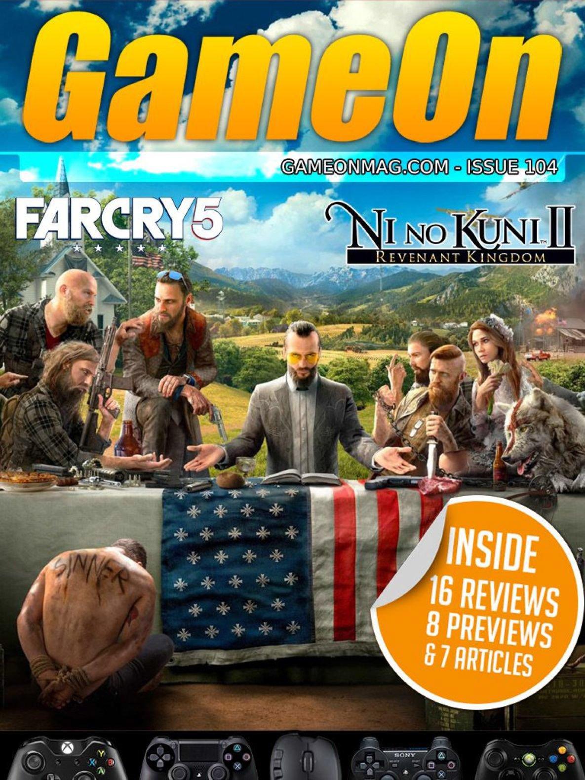 GameOn 104 (June 2018)