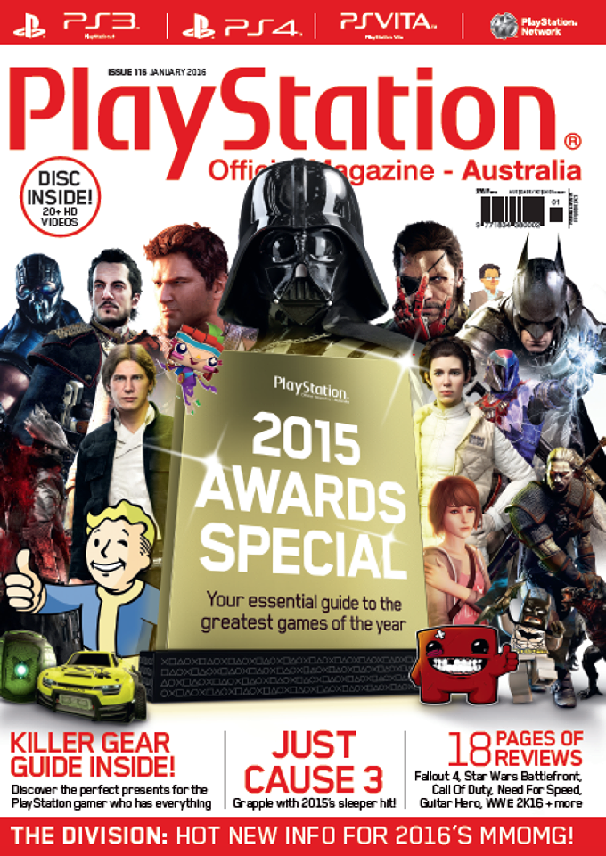 PlayStation Official Magazine Issue 116 (January 2016)