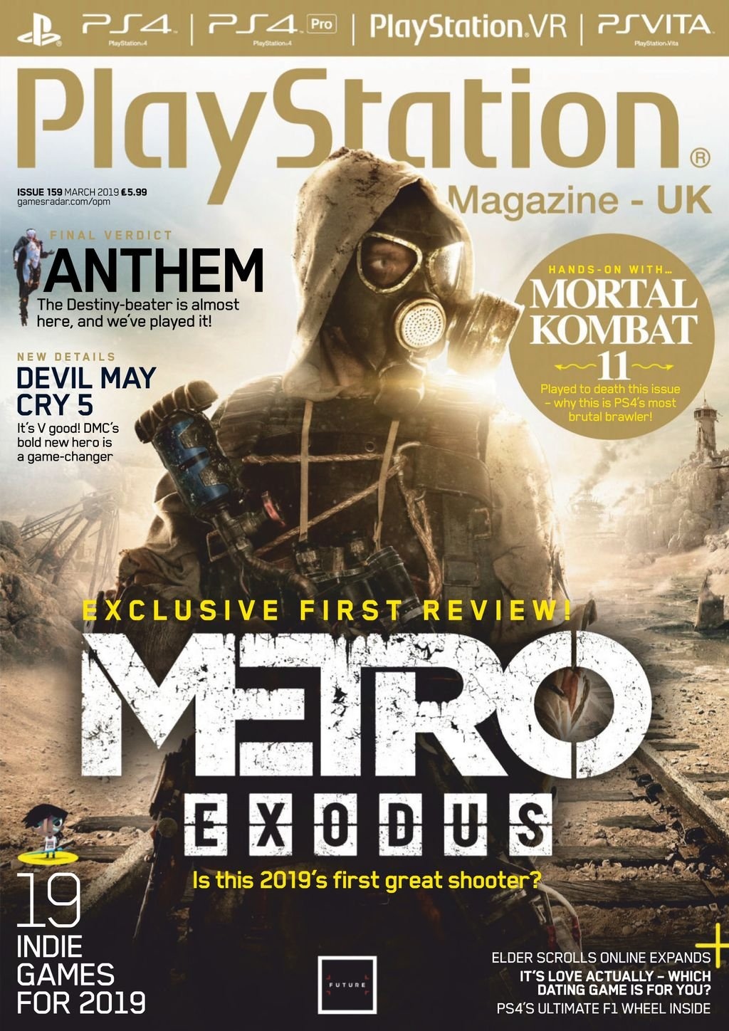 Playstation Official Magazine UK 159 (March 2019)