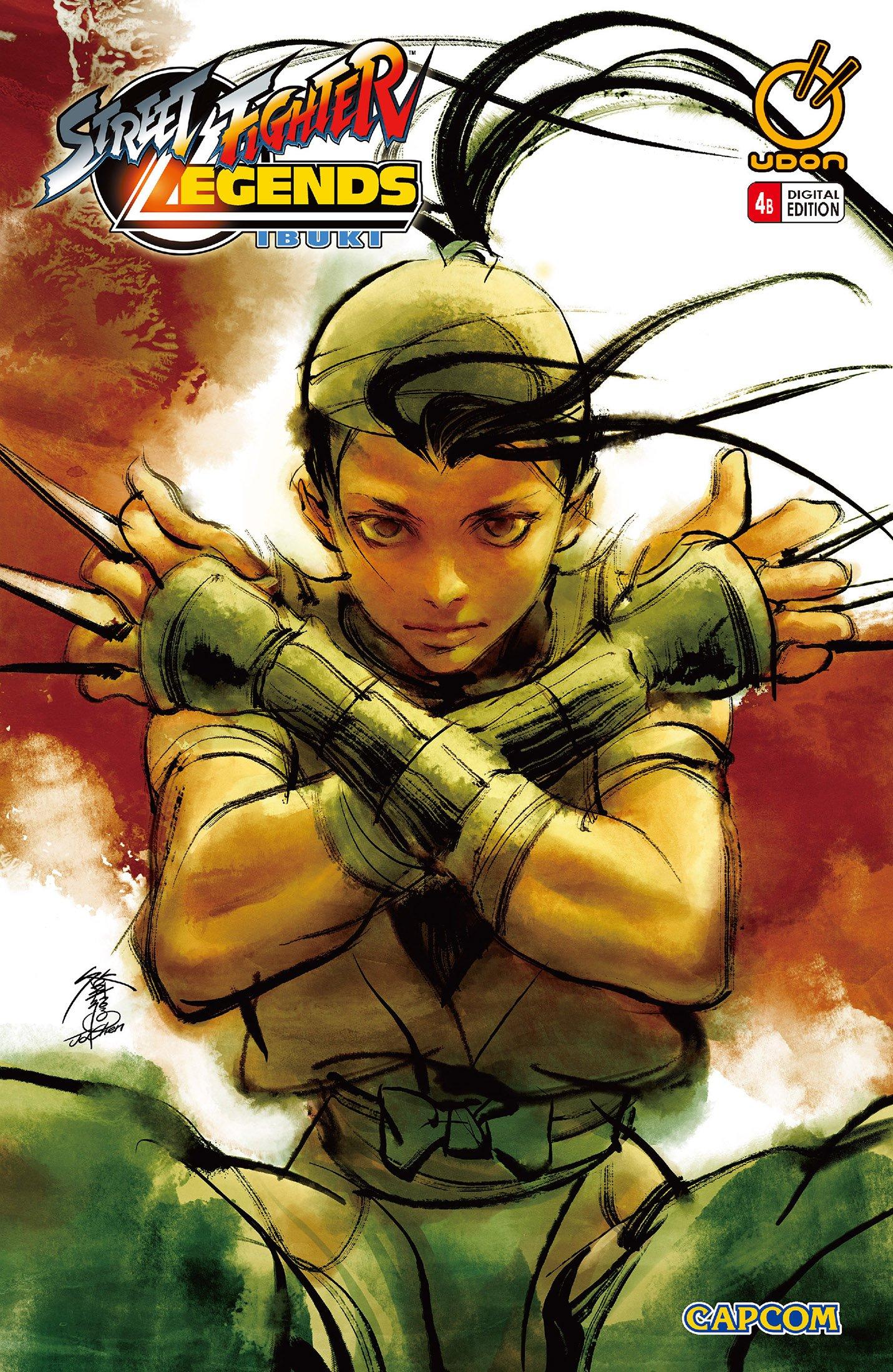 Street Fighter Legends: Ibuki 004 (August 2010) (cover b)