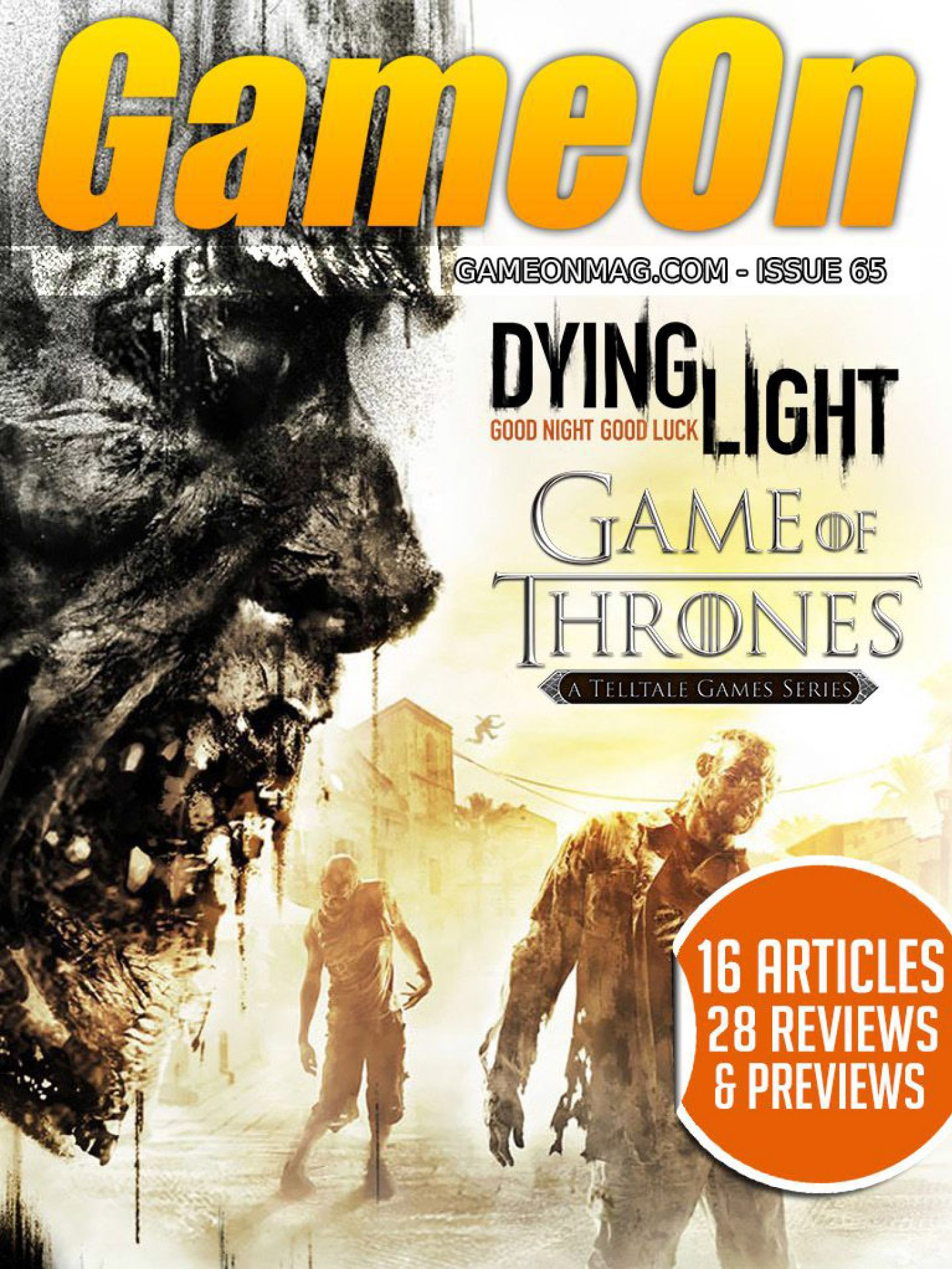 GameOn 065 (March 2015)