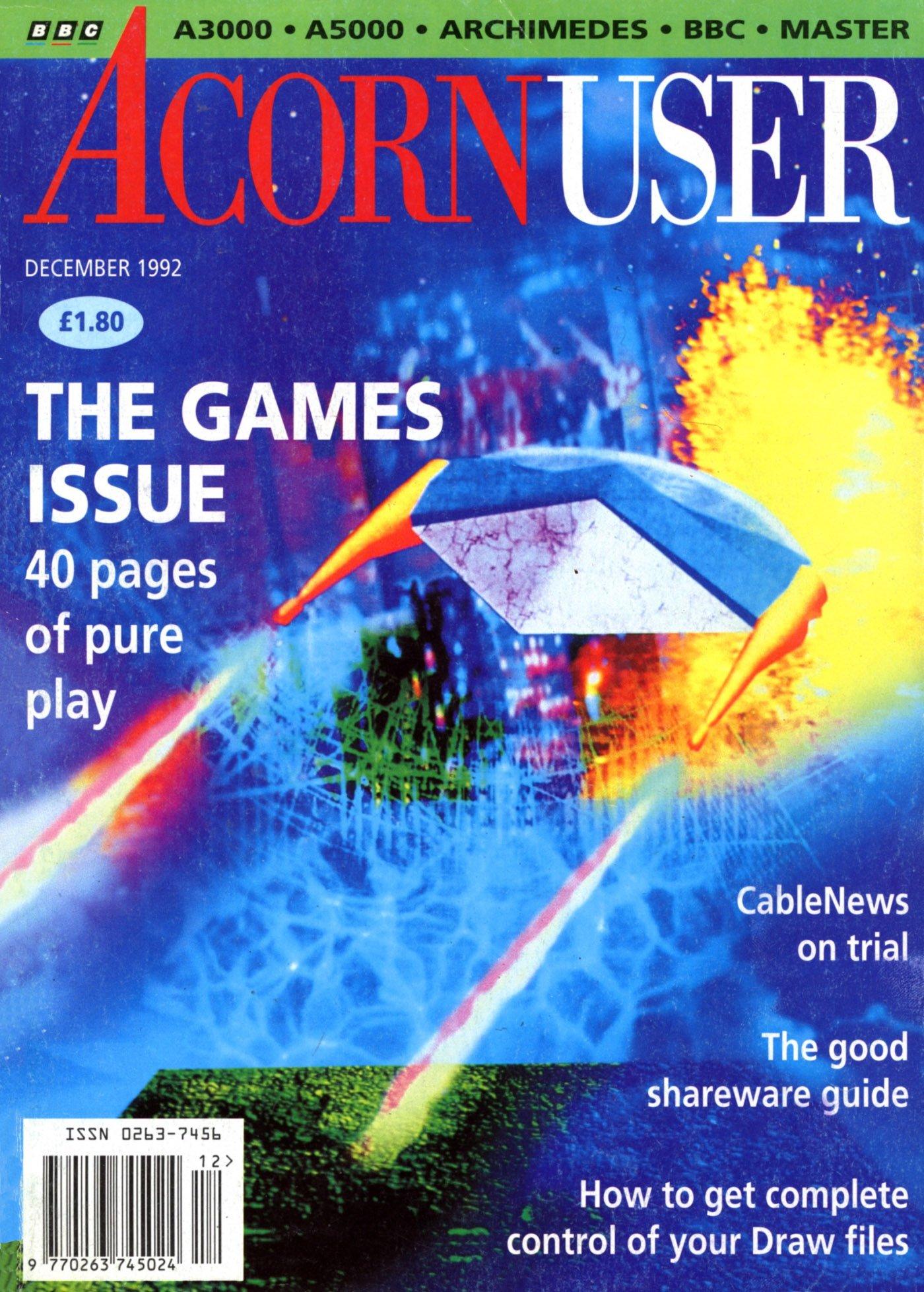 Acorn User 125 (December 1992)