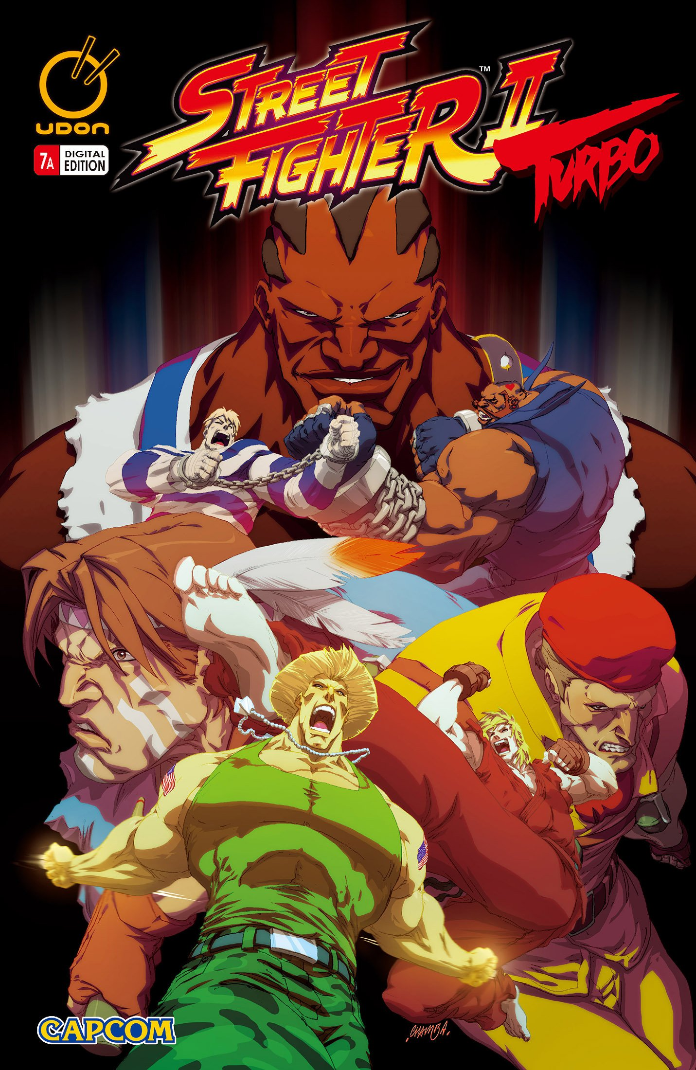 Street Fighter II Turbo 007 (July 2009) (cover a)