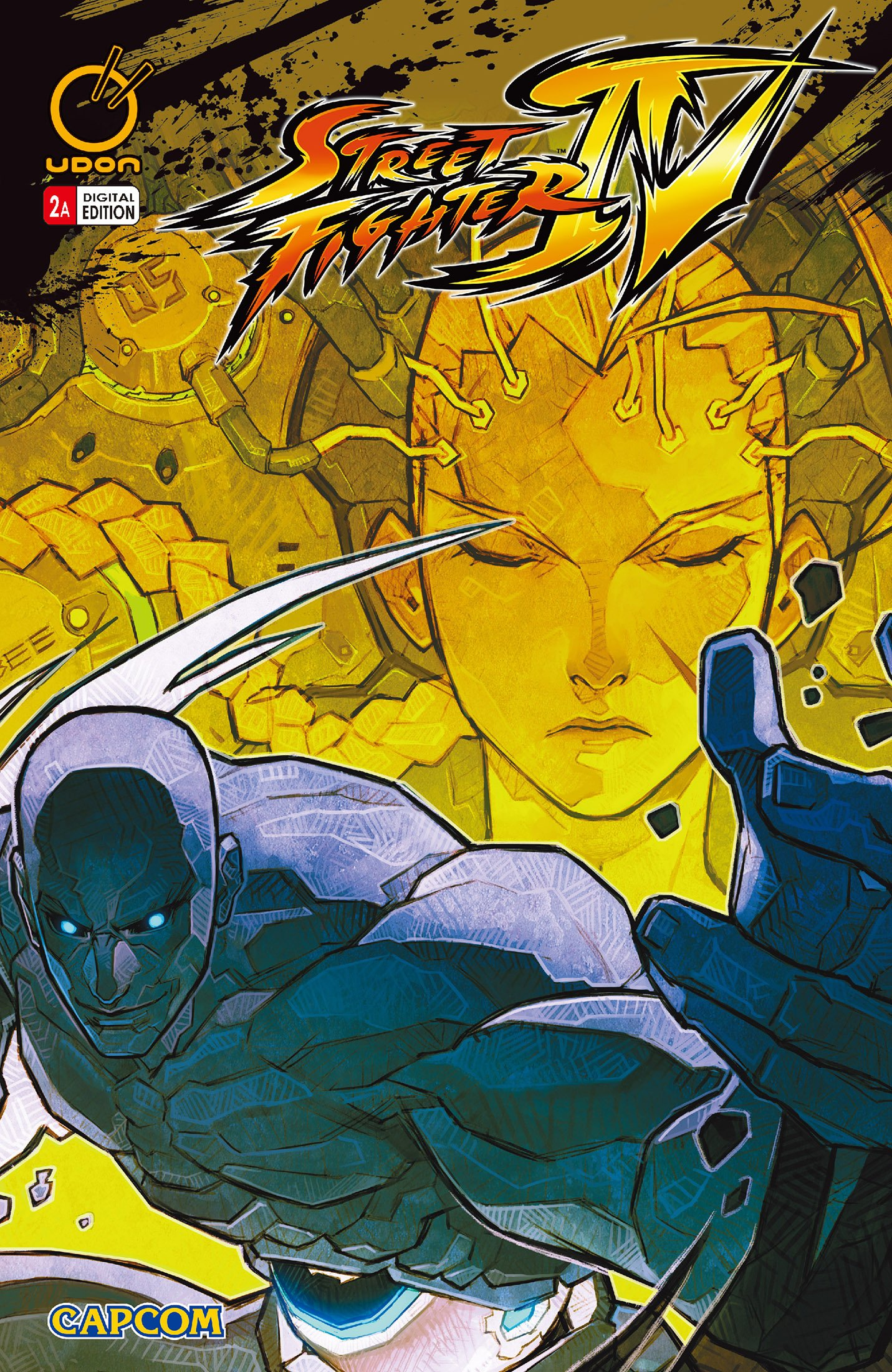 Street Fighter IV 002 (April 2009) (cover a)