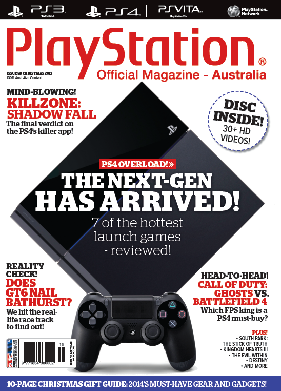 PlayStation Official Magazine Issue 089 (Xmas 2013)