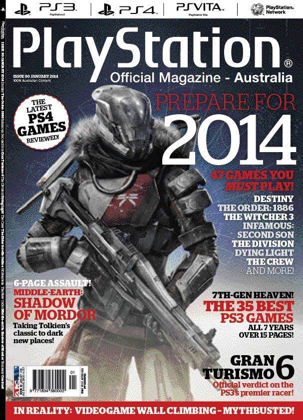 PlayStation Official Magazine Issue 090 (January 2014)