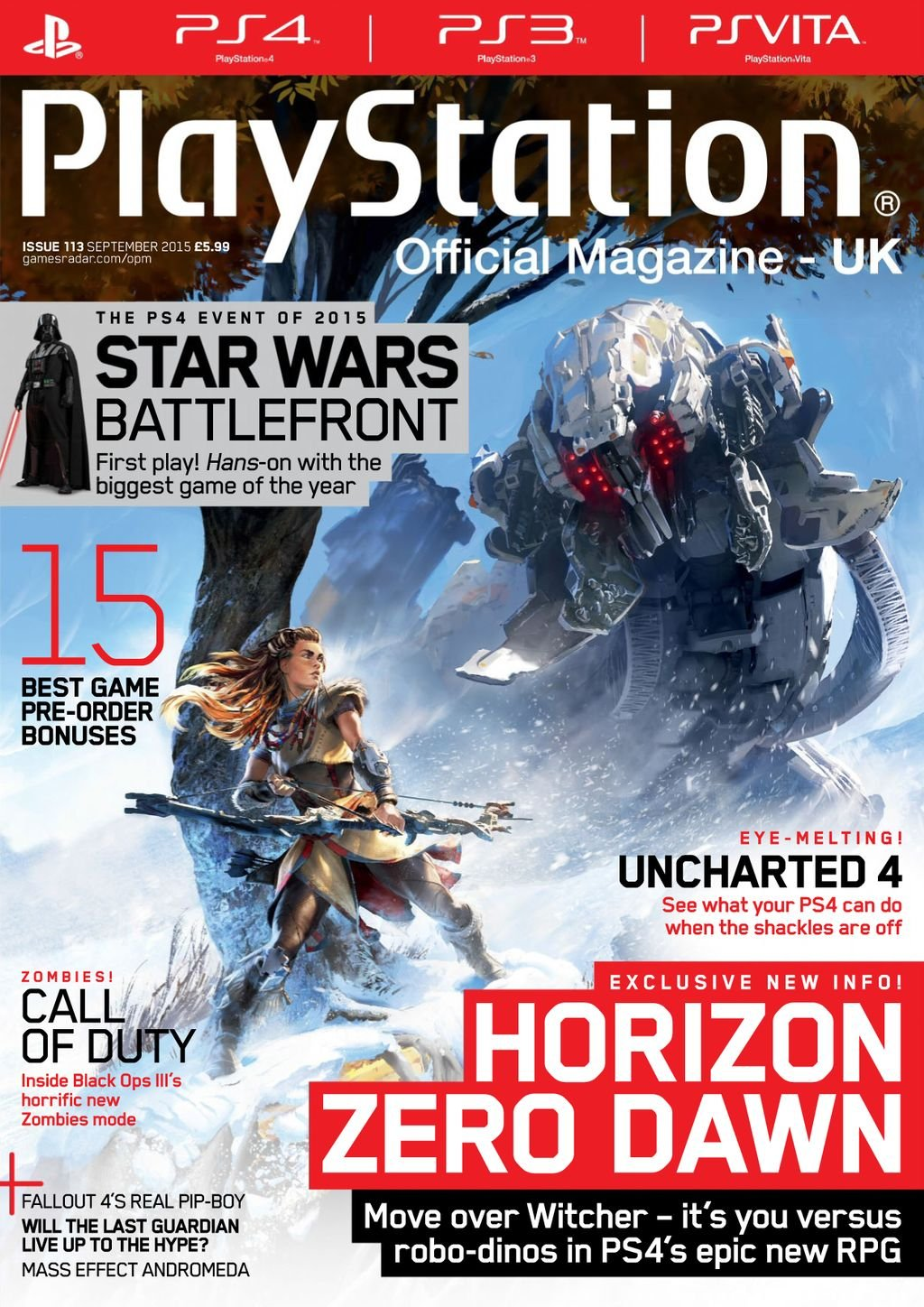 Playstation Official Magazine UK 113 (September 2015)
