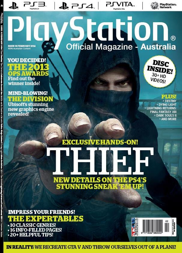 PlayStation Official Magazine Issue 091 (February 2014)