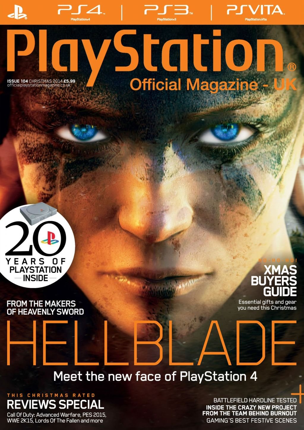 Playstation Official Magazine UK 104 (Christmas 2014)