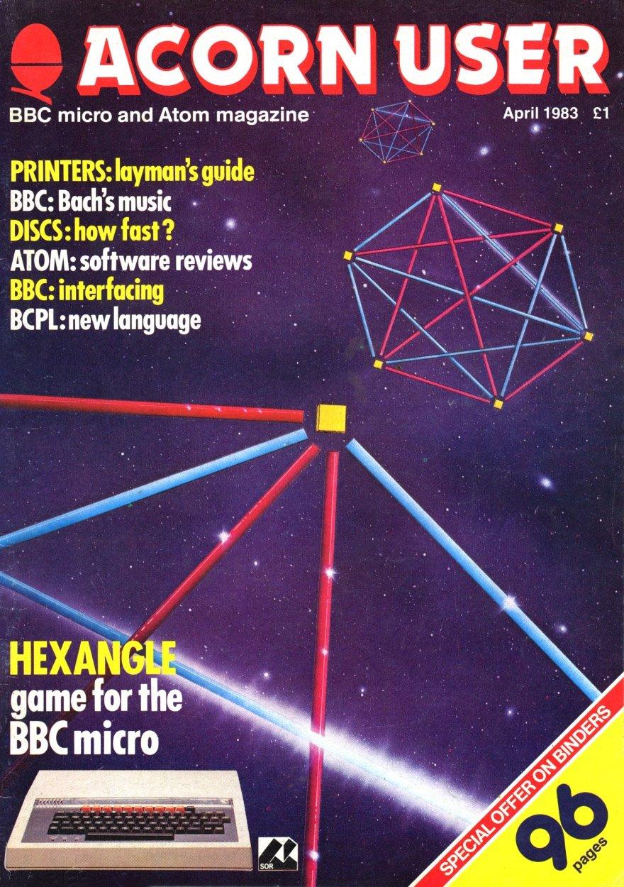 Acorn User 009 (April 1983)
