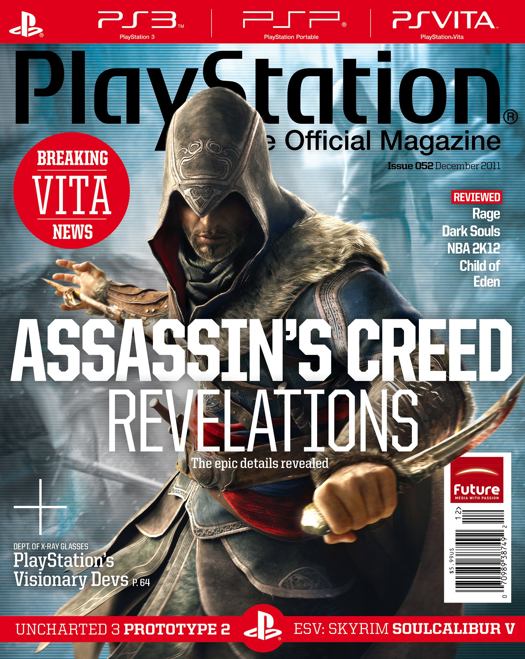 Playstation The Official Magazine (USA) Issue 052 (December 2011)