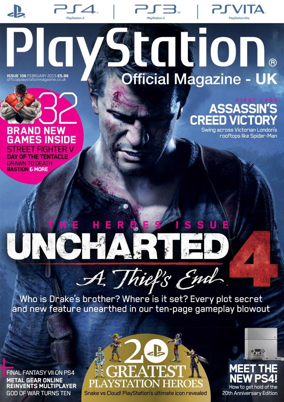 Playstation Official Magazine UK 106 (February 2015)