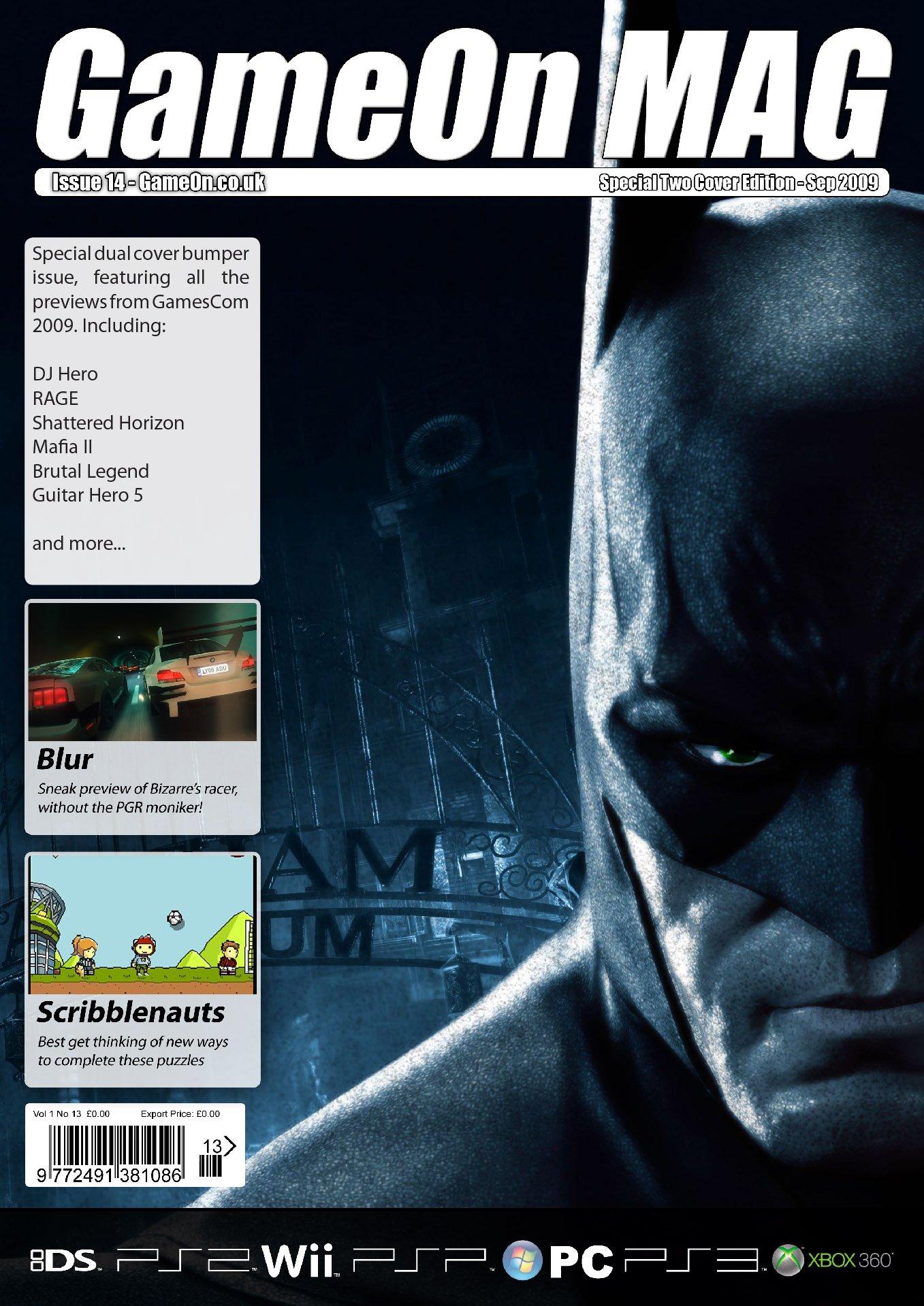 GameOn 014 (September 2009) (cover 1)