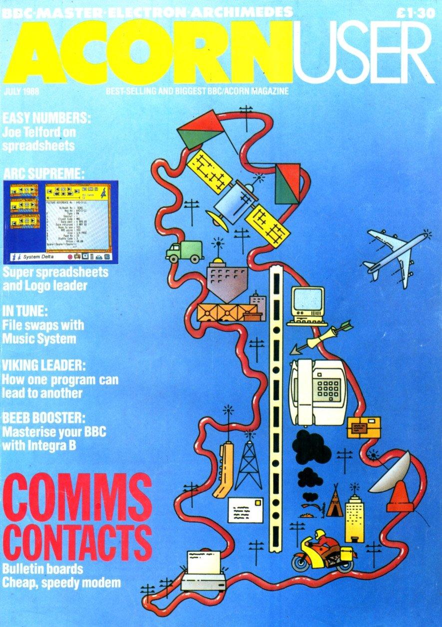 Acorn User 072 (July 1988)