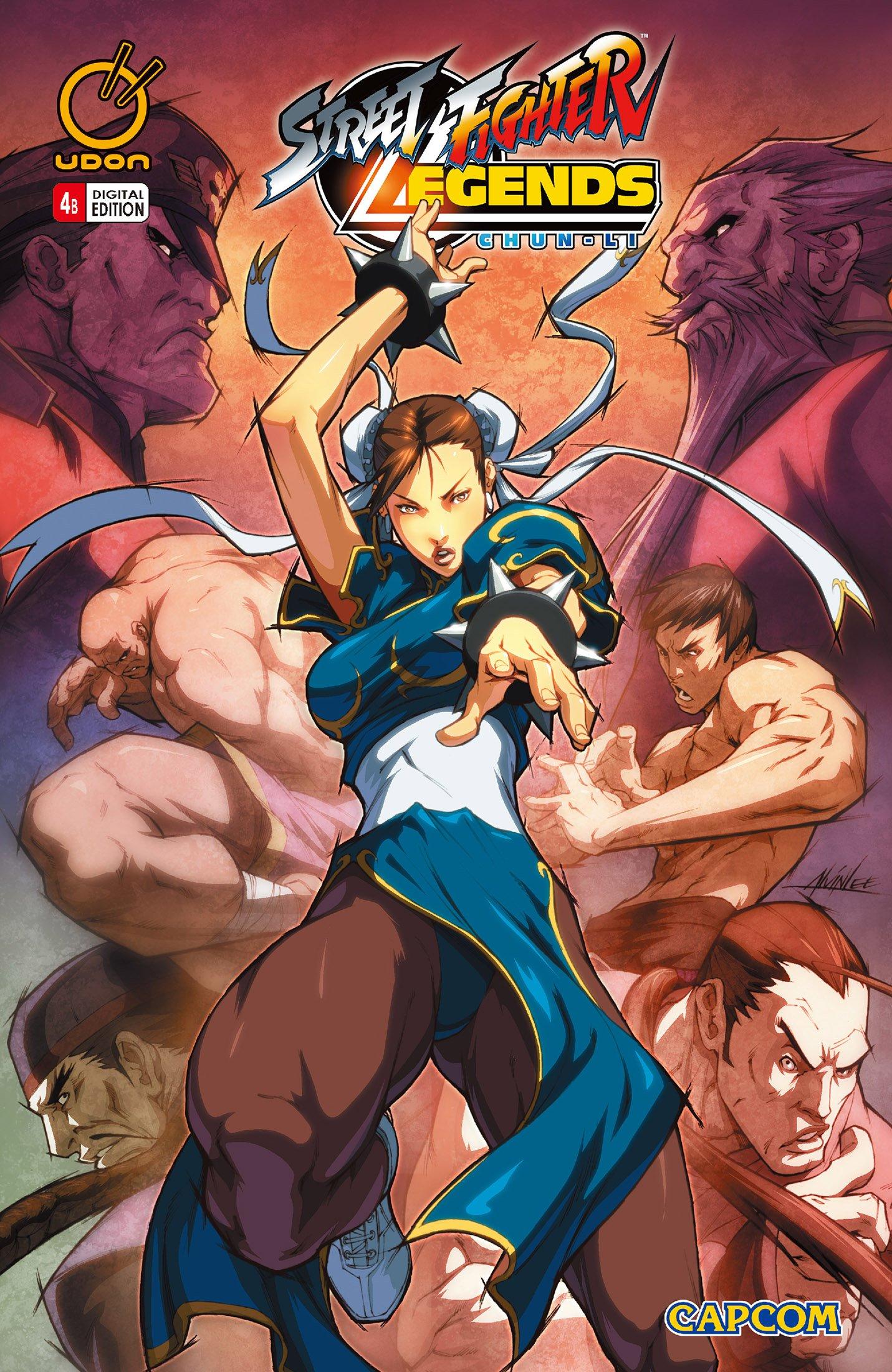 Street Fighter Legends: Chun-Li 004 (August 2009) (cover b)
