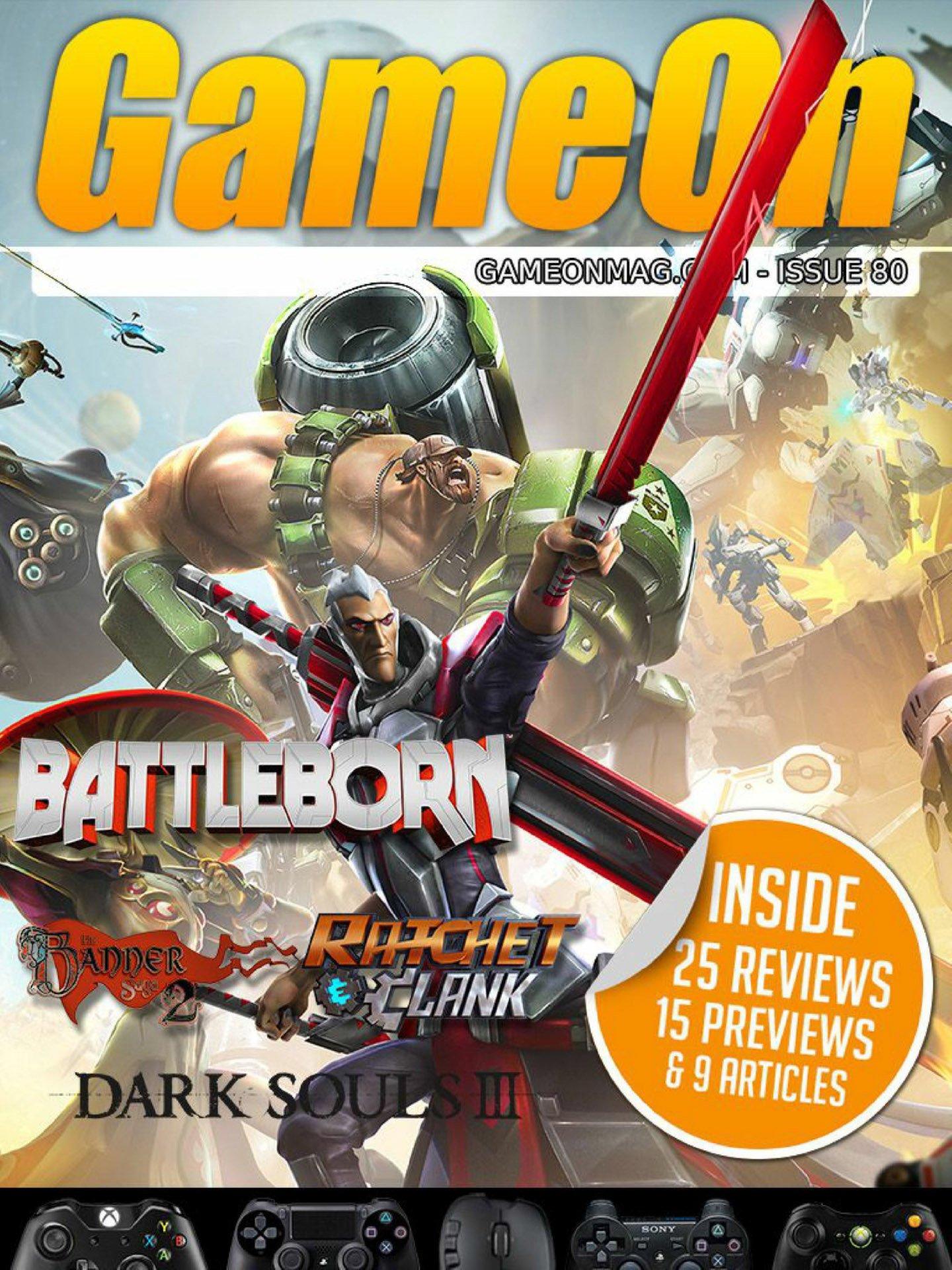 GameOn 080 (June 2016)
