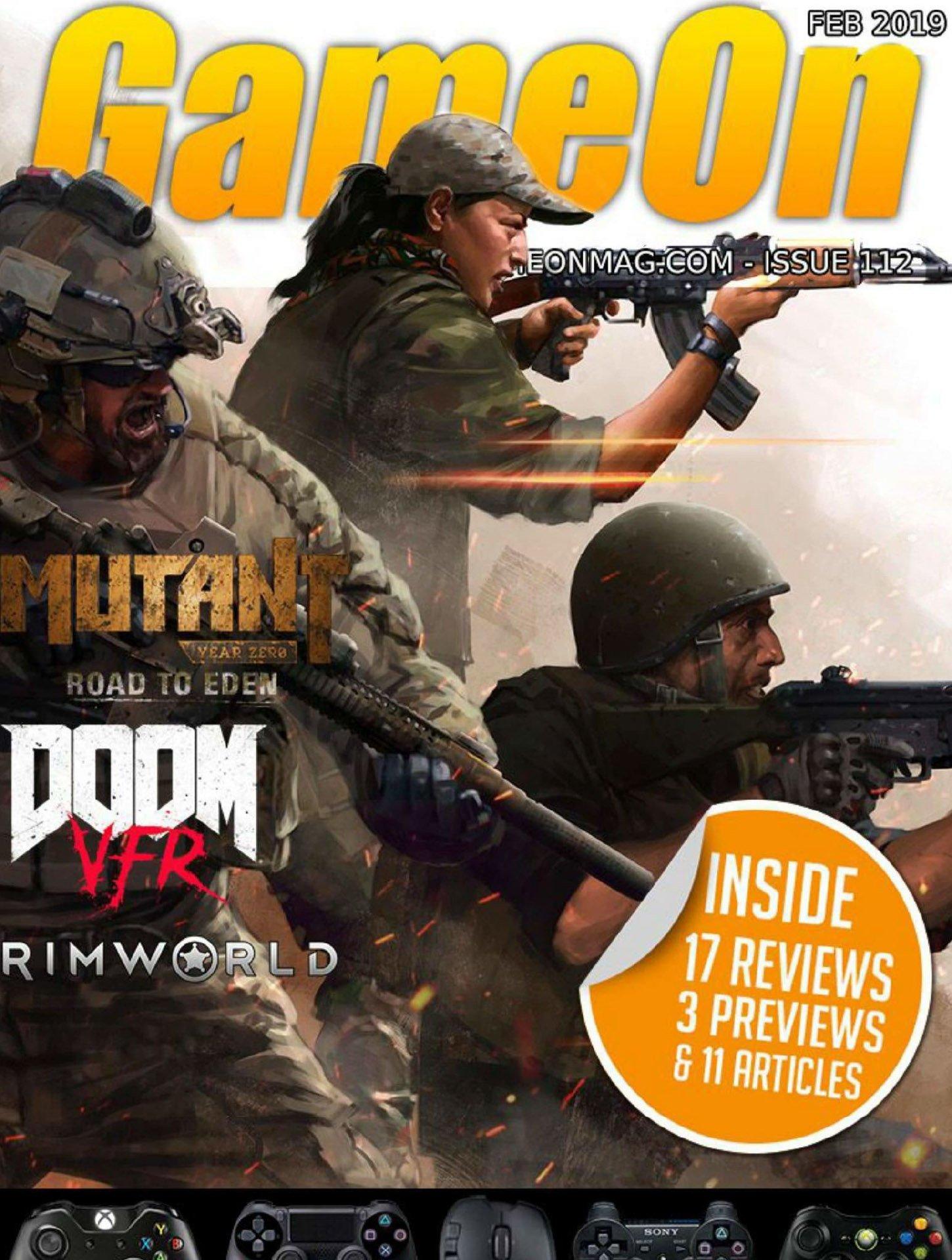 GameOn 112 (February 2019)
