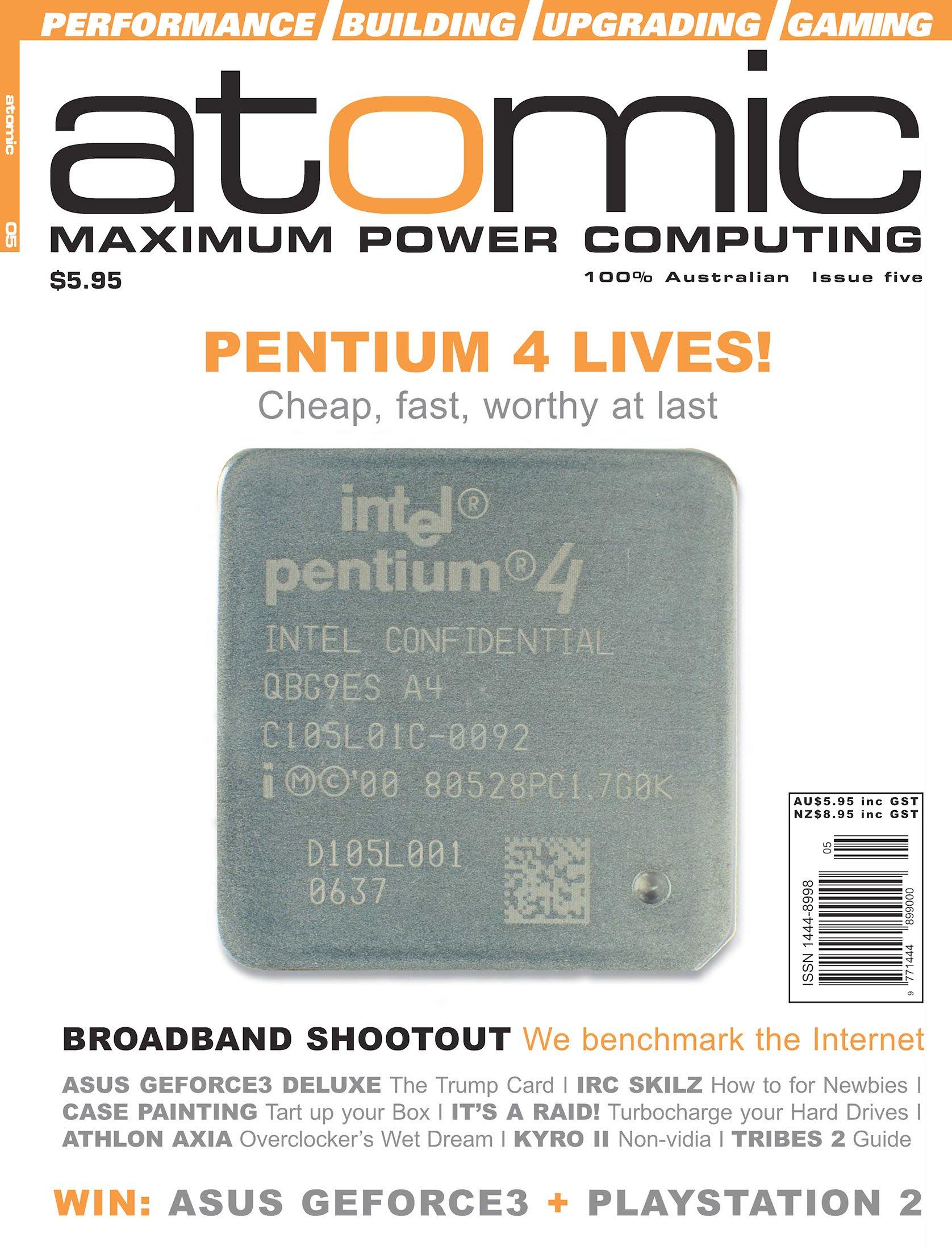 Atomic 005 (June 2001)