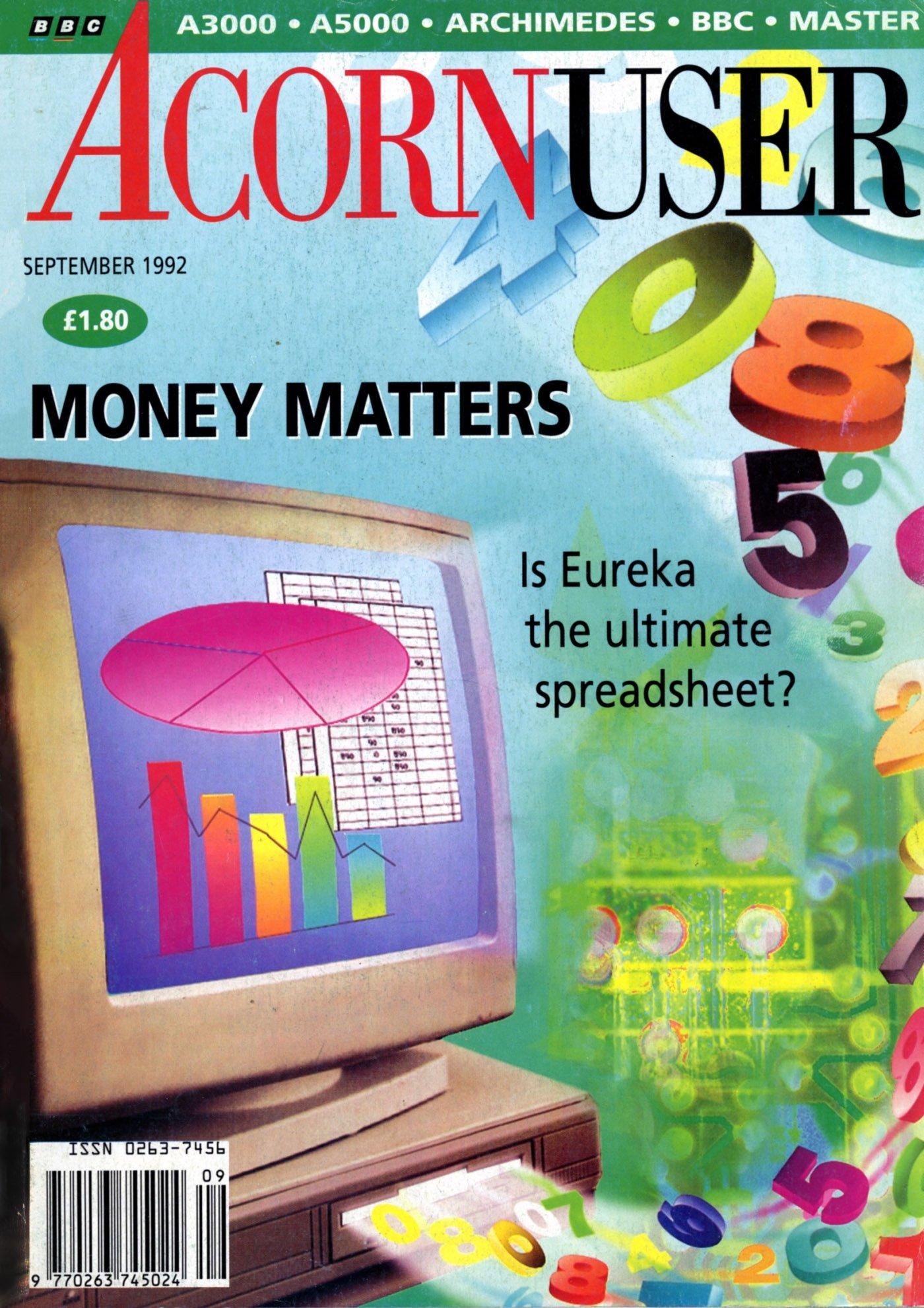 Acorn User 122 (September 1992)