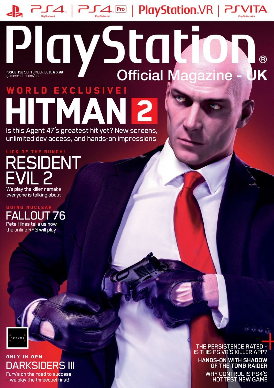 Playstation Official Magazine UK 152 (September 2018)