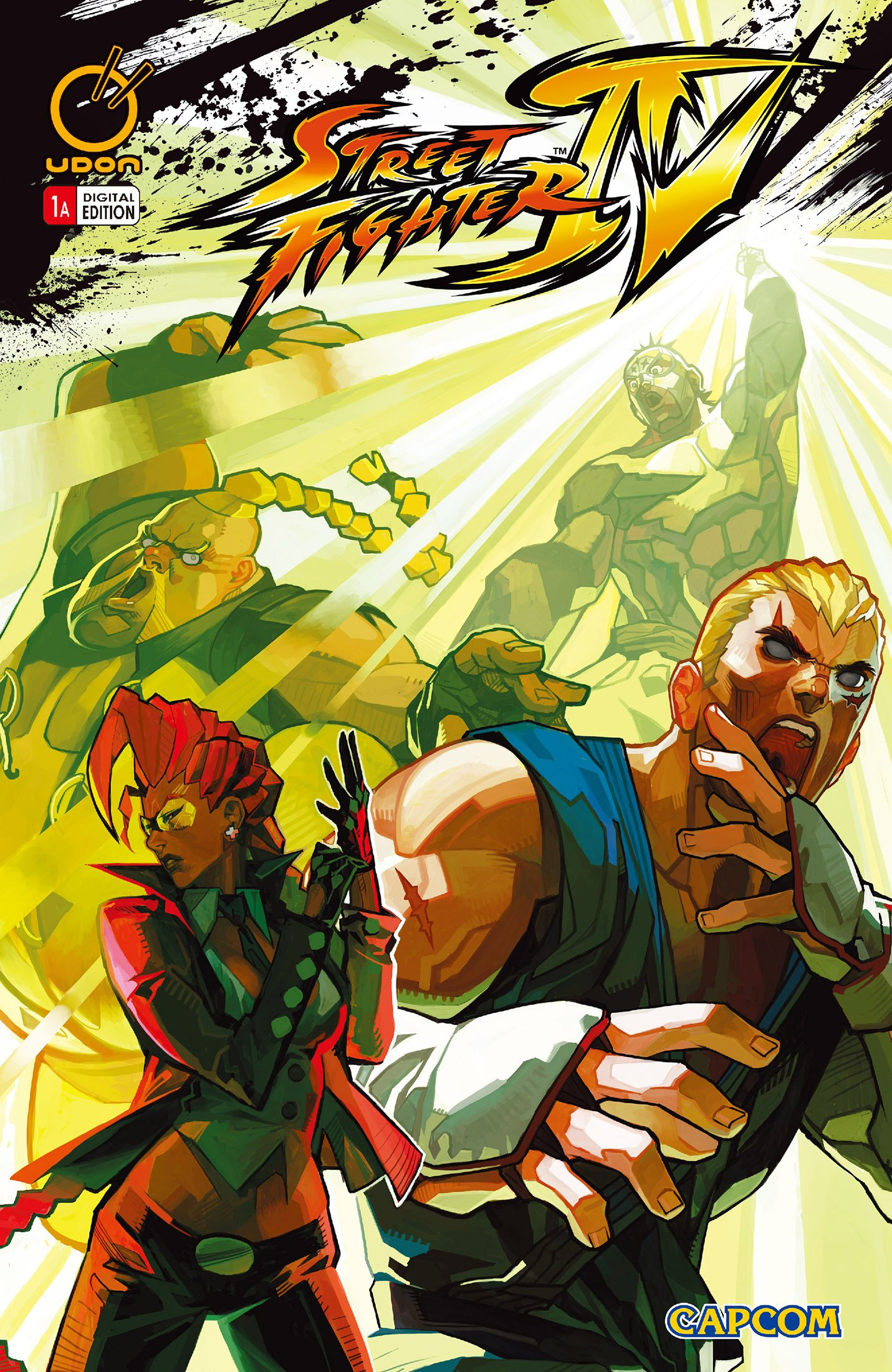 Street Fighter IV 001 (February 2009) (cover a)