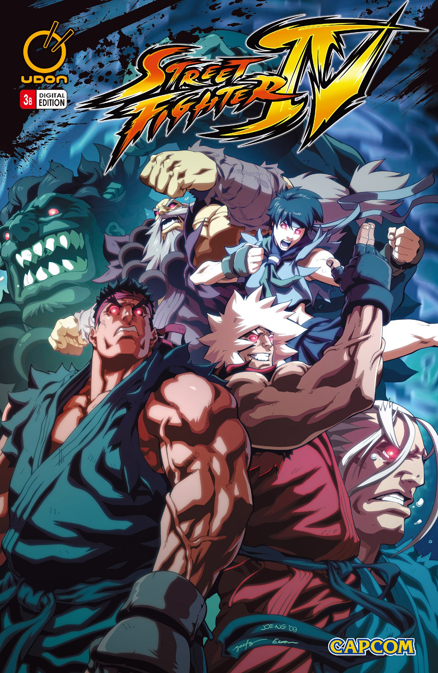 Street Fighter IV 003 (July 2009) (cover b)
