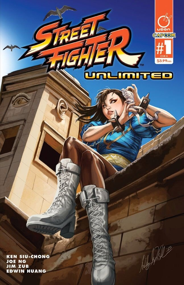 Street Fighter Unlimited 001 (December 2015) (AOD Collectibles variant)