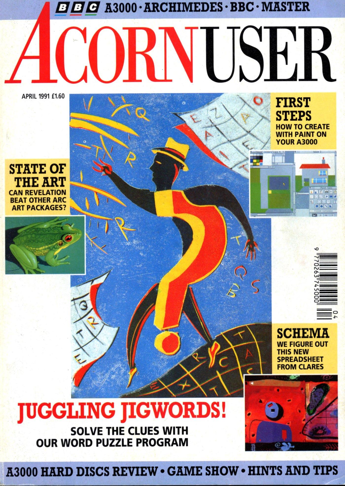 Acorn User 105 (April 1991)