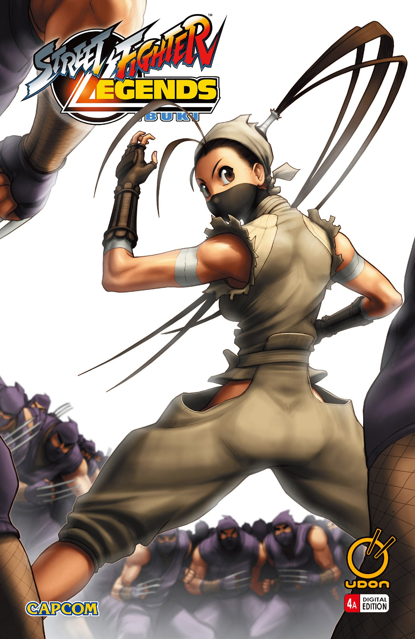 Street Fighter Legends: Ibuki 004 (August 2010) (cover a)